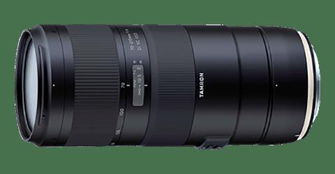 Lente teleobjetivo zoom Tamron 70-210mm F4 Di VC USD
