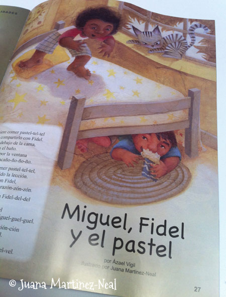 Fidel, Miguel y el Pastel - Iguana Magazine - September/October 2011