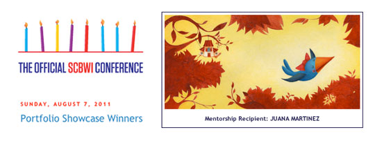 Expect Nothing Be Surprised - SCBWI Los Angeles Conference - Illustrator Mentorship Award