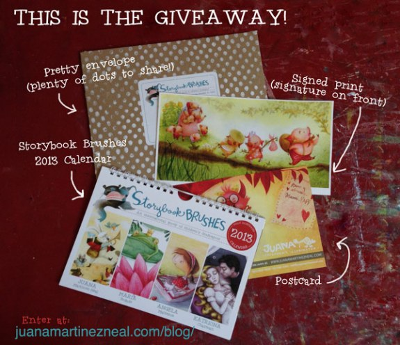 Calendar Giveaway - What you get!