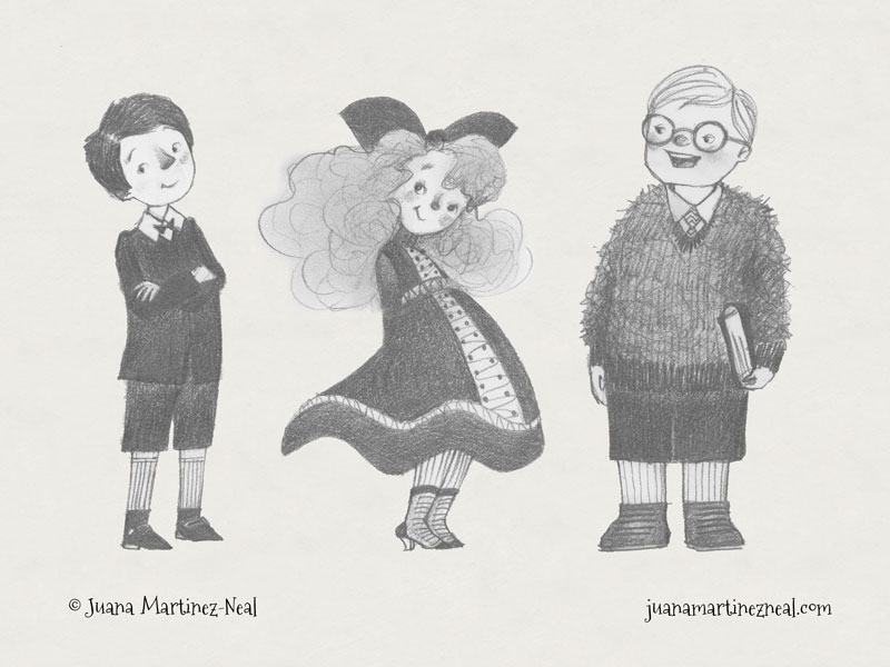 Middle Grade Character Studies