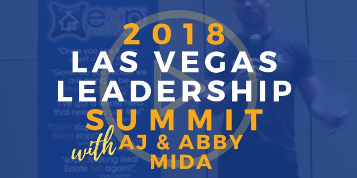 Las Vegas Leadership Summit – AJ & Abby Mida