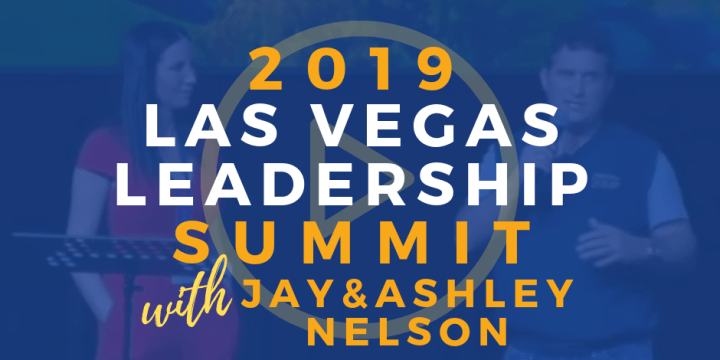 Las Vegas Leadership Summit – Jay & Ashley Nelson