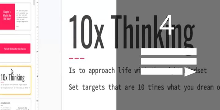 10X Rule Book Talk & Mastermind