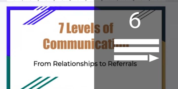 7 Levels of Communication – Book Talk