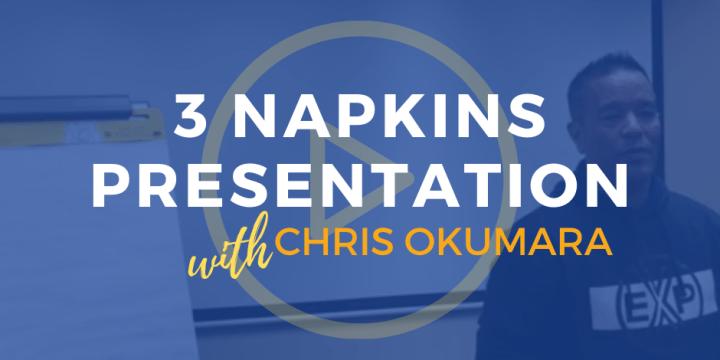 3 Napkins Presentation
