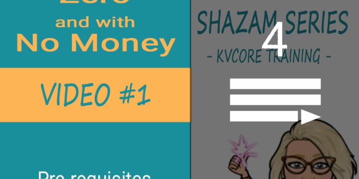 Shazam Series – kvCore Training