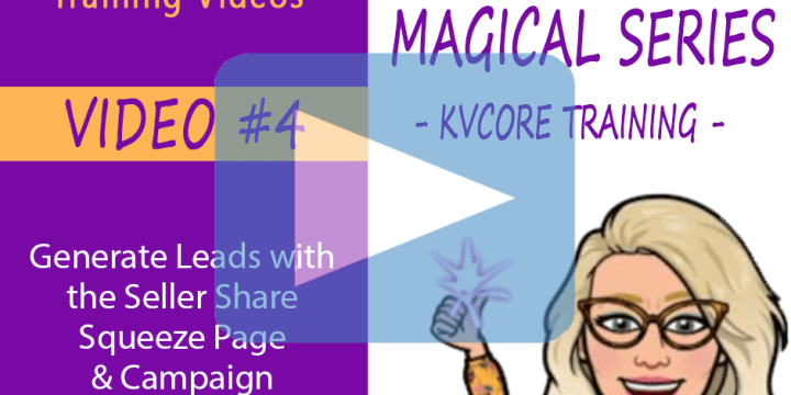 Generate Leads with the Seller Share Squeeze Page & Campaign