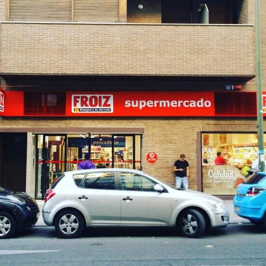 Qué alegría, qué alboroto, el primer Froiz en Madrid ciudad.