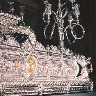 trono barroco