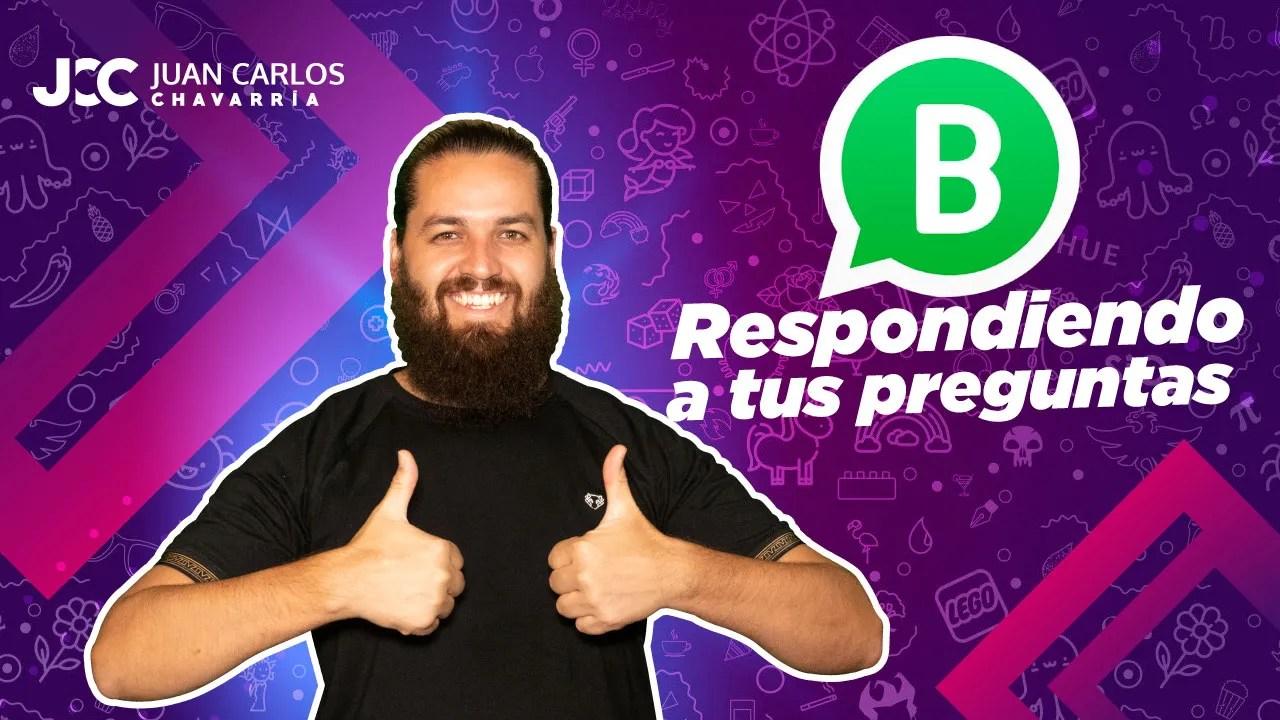 whatsapp respondo tus preguntas