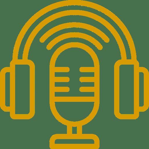 producción de podcast