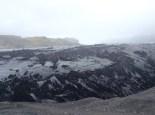 Frente de la lengua del glaciar