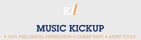 Music Kickup viene a patear el tablero de la distribución digital