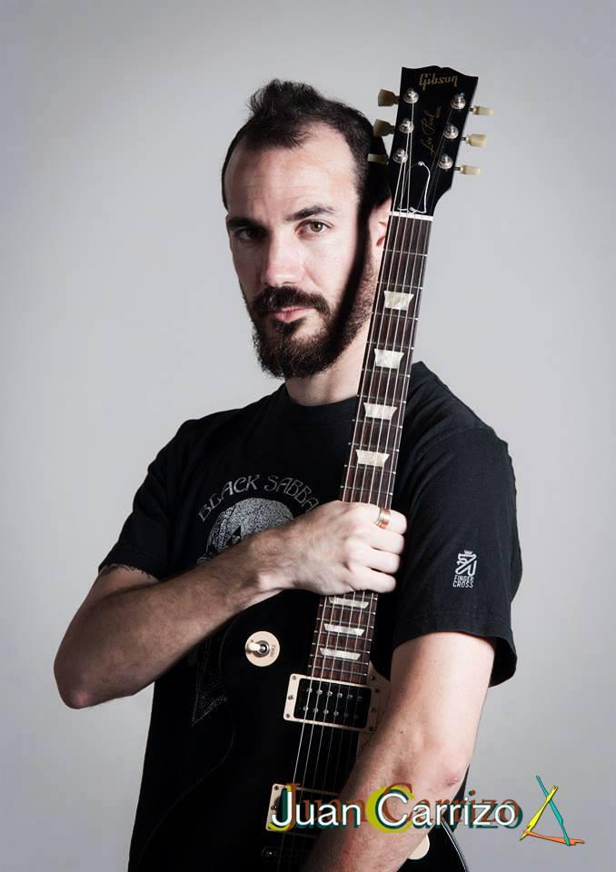 Juan Carrizo | Guitarrista de rock | Compositor | Viajero