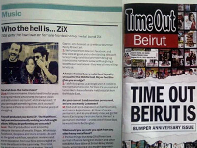 Juan Carrizo en Time Out Beirut
