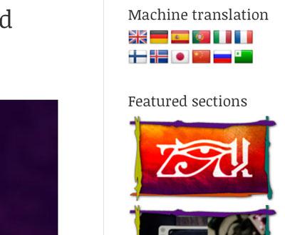Web multi lenguaje - traducción automática