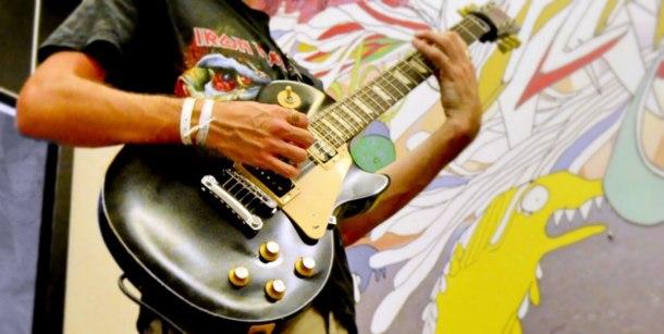 Juan Carrizo | dada en Salvador do Bahia 7 - Un guitarrista de rock
