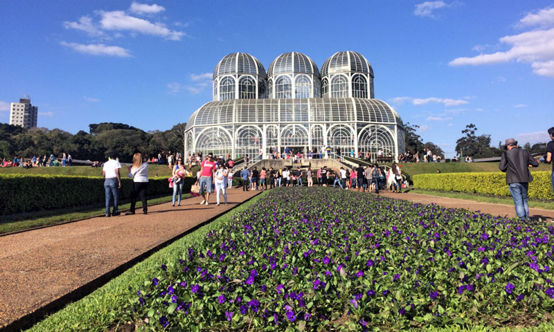 Brasil - Curitiba - Jardin Botánico