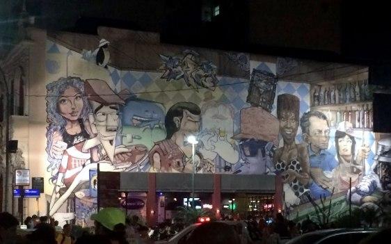 Juan Carrizo - Rio - Lapa y sus murales