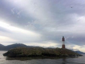 Ushuaia - Canal de Beagle - El faro del fin del mundo