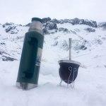 Ushuaia - Glaciar Martial - El mate en la nieve