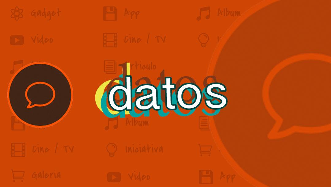 Juan Carrizo blog | datos
