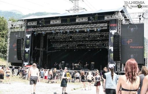 Juan Carrizo   ZiX @ Metal Days 2016 - stage