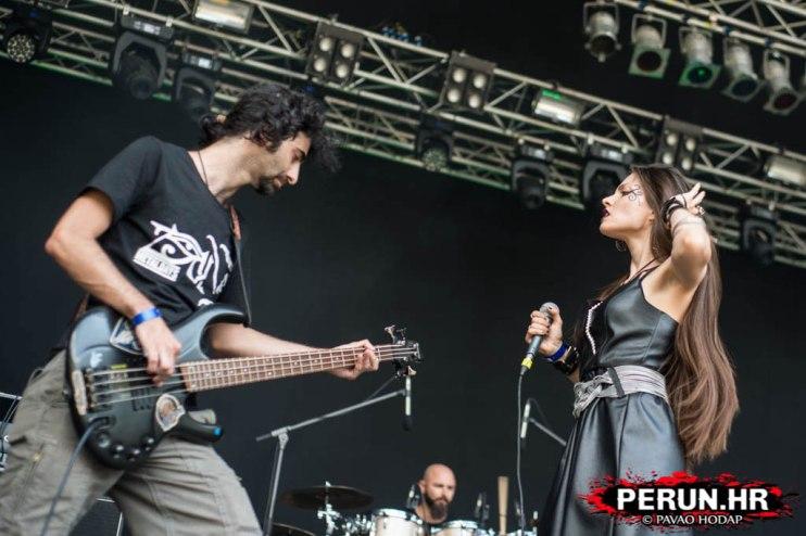 Juan Carrizo | ZiX @ Metal Days 2016 - Ziad y Jelena