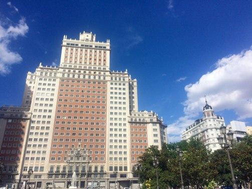 Juan Carrizo [viajes] Madrid   Edificio España