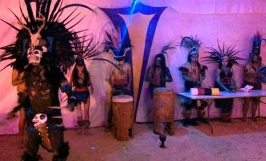 Dia de muertos en MIxquic - bailes tipicos