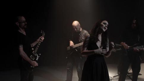 Anna Fiori - Fuego negro videoclip shooting