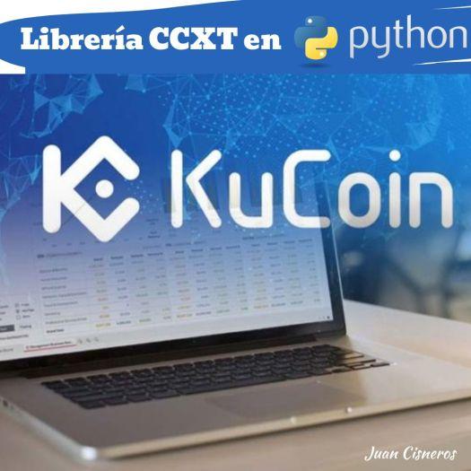 API Kucoin Python CCXT