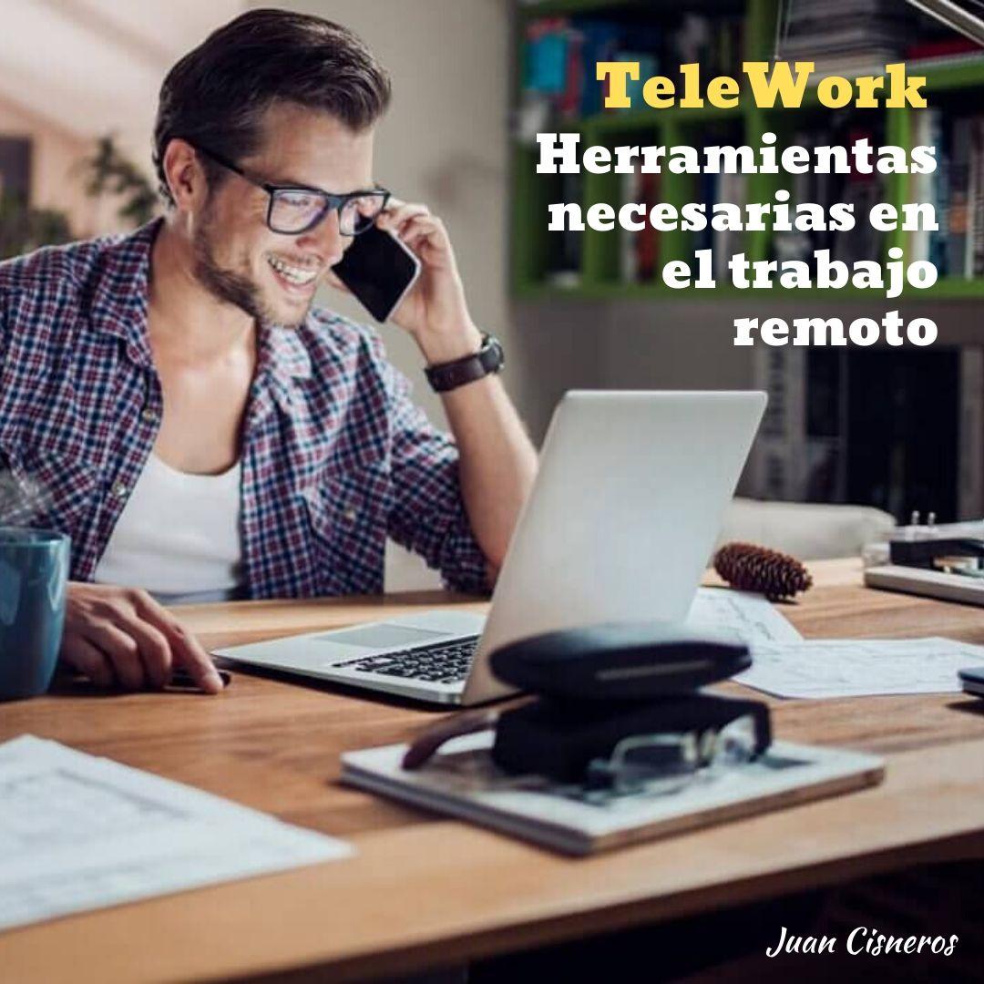 Telework : herramientas digitales para el trabajo remoto