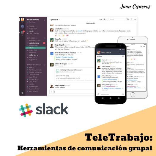 TeleWork: 5 herramientas gratis necesarias en el trabajo remoto Slack