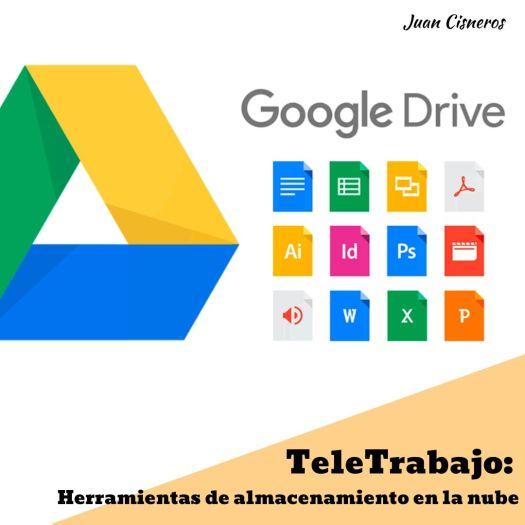 TeleWork: 5 herramientas gratis necesarias en el trabajo a distancia Google Drive