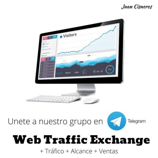 Cómo usar un Traffic Exchange en sitios web