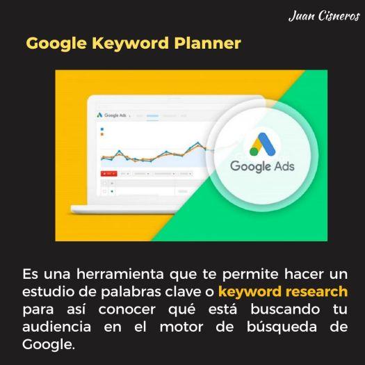 3 herramientas poderosas de Google para encontrar nichos de mercado - Googe Keyword Planner