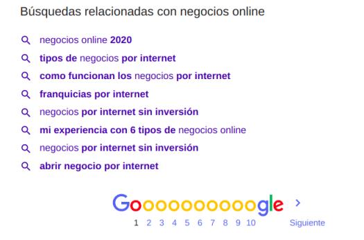 3 herramientas poderosas de Google para encontrar nichos de mercado en el 2020 - Google Suggest
