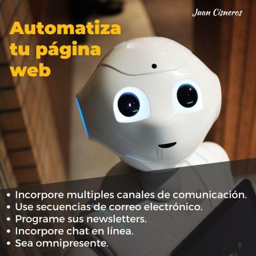 tácticas infalibles para convertir a tus visitantes en clientes automatiza tu página web