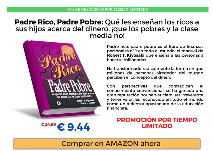 Amazon Padre Rico Padre Pobre