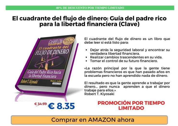 Robert Kiyosaki Cuadrante Flujo Dinero Amazon