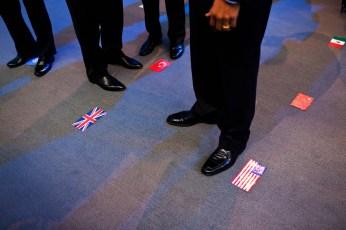 A los pies de Obama