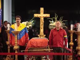 El hoy presidente Maduro de rigurosa etiqueta: Chandal grana y oro