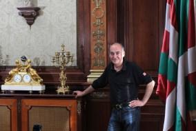 Martin Garitano en su despacho (Foto elpaís.es)