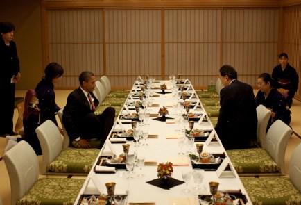 Obama y el Primer Ministro Japonés