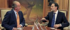 Audiencia de S.M. El Rey a Rajoy (EFE)