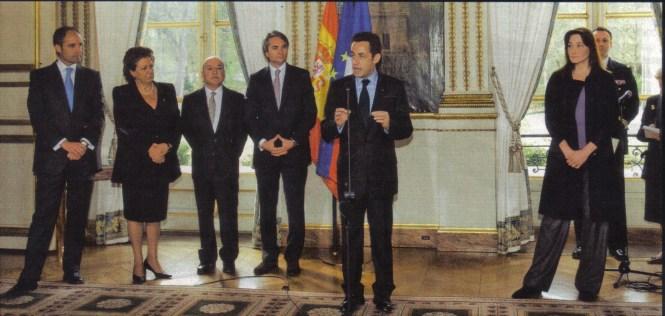 """Sarkozy y la """"cuadrilla del aburrimiento"""""""
