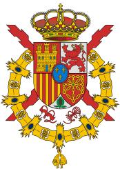Escudo de armas del Rey