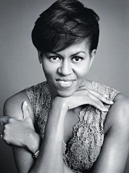 Michelle Obama en una foto de Marc Hom